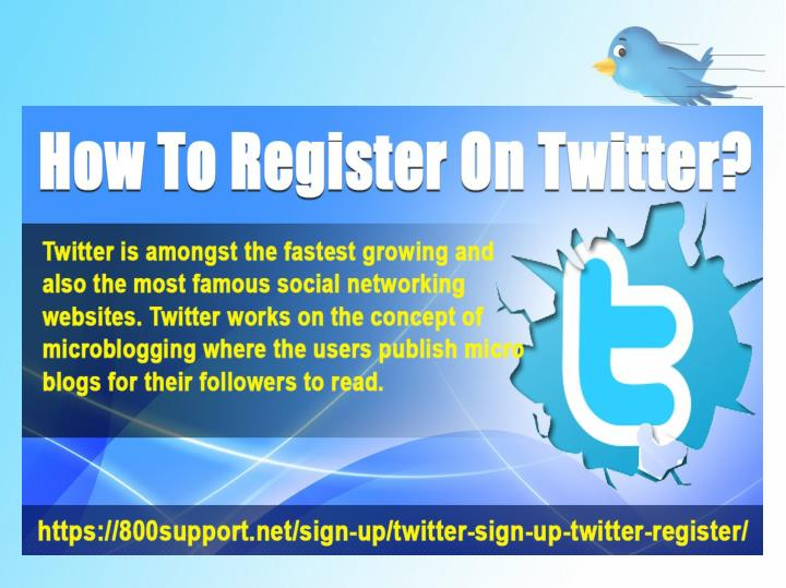 How to register on twitter 7421637