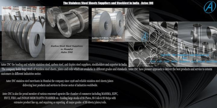 Stainless steel suppliers and stockiest in india astec inc