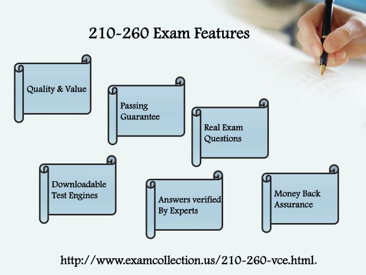 210-260 Exam Features
