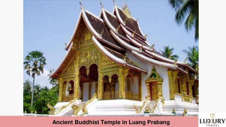 Ancient Buddhist Temple in Luang Prabang