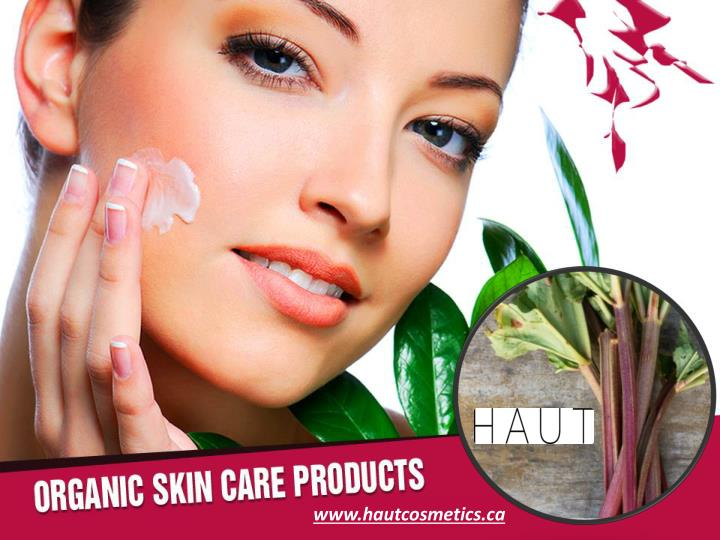 Organic skin care products reveal the truth