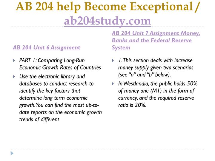 AB 204 help Become Exceptional