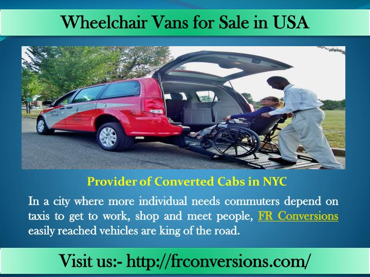 Wheelchair Vans for Sale in
