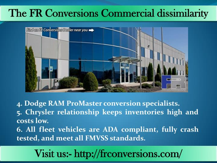 The FR Conversions Commercial dissimilarity