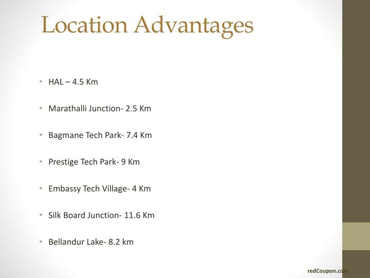 Location Advantages