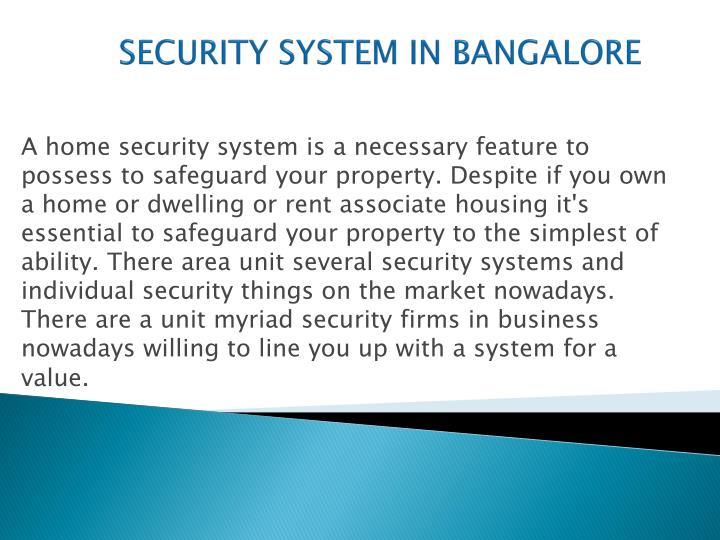 Security system in bangalore1
