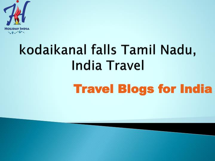 Kodaikanal falls tamil nadu india travel