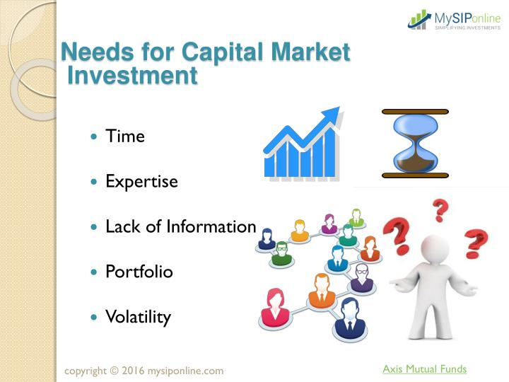 Needs for Capital Market