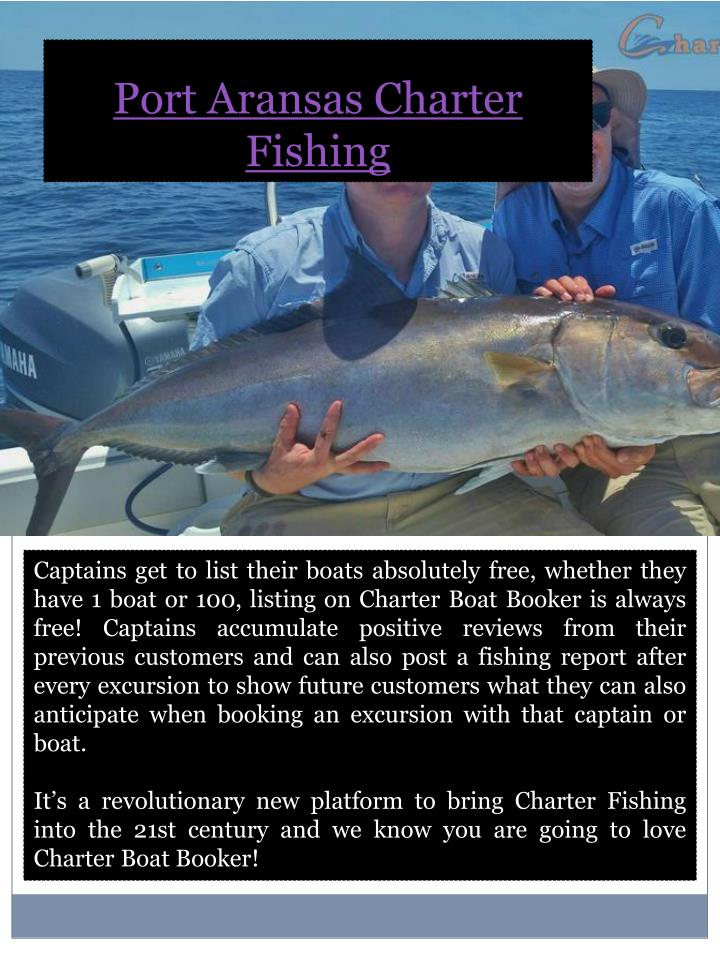 Port Aransas Charter Fishing