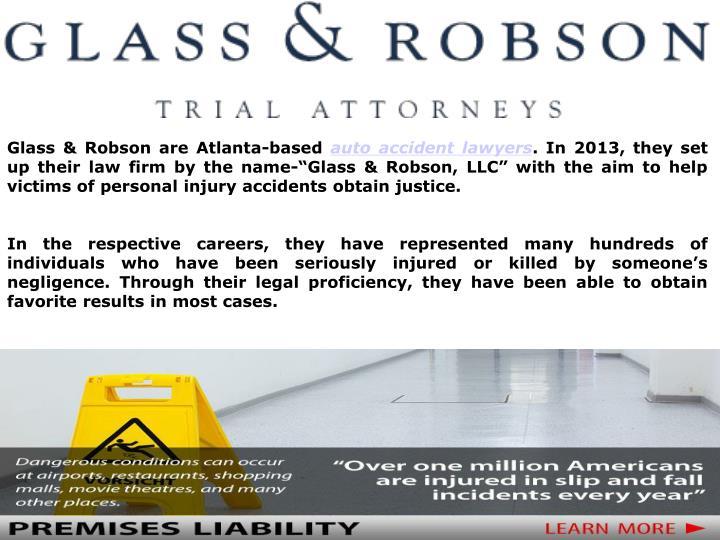 Glass & Robson are Atlanta-based