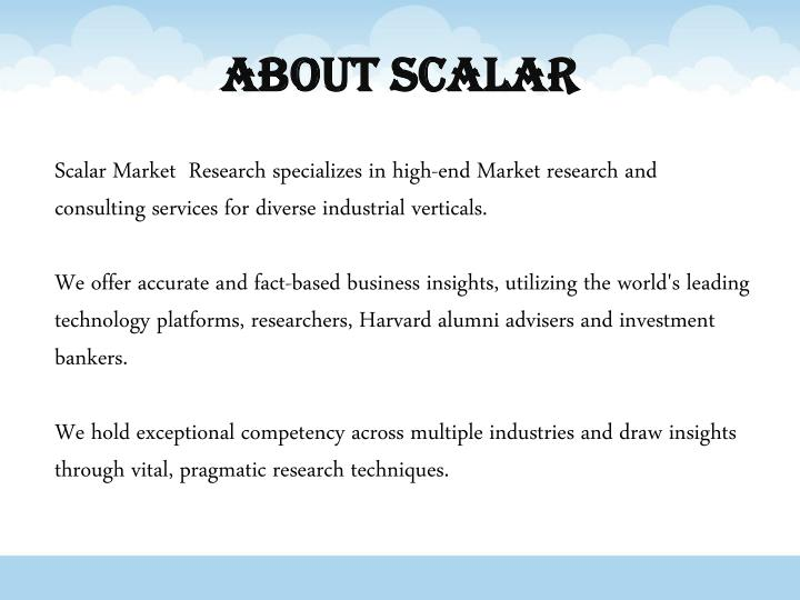 About Scalar