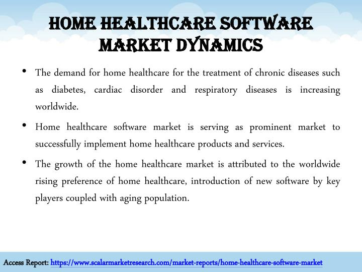 Home Healthcare Software Market Dynamics