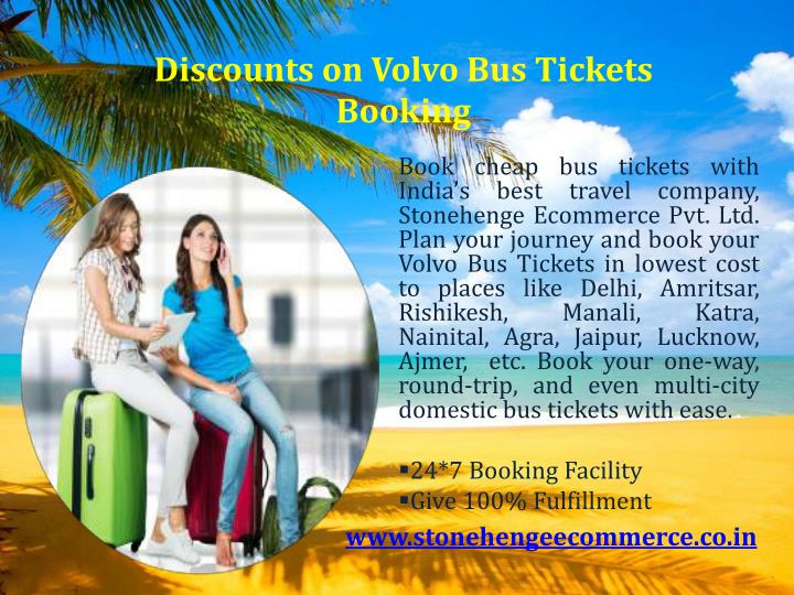 Discounts on Volvo Bus Tickets