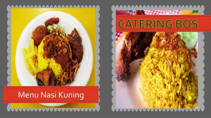 Menu Nasi Kuning