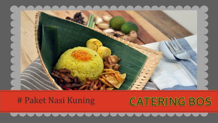 # Paket Nasi Kuning