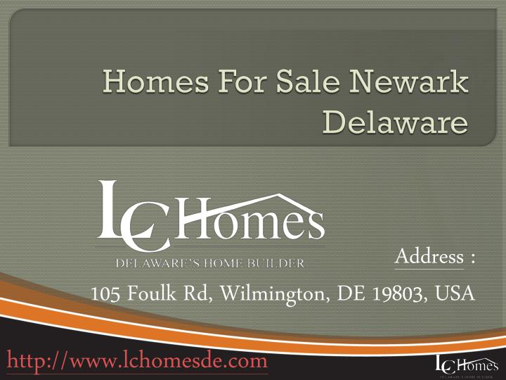Homes For Sale Newark Delaware