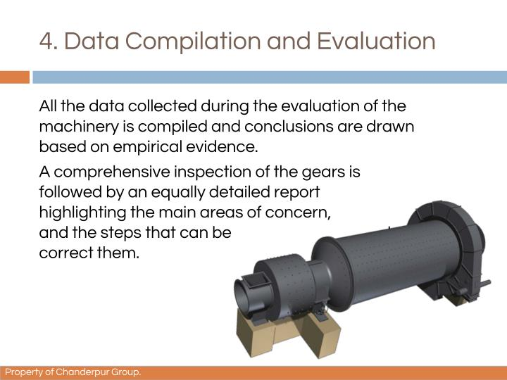 4. Data Compilation and Evaluation