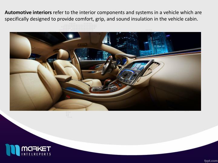 Automotive interiors
