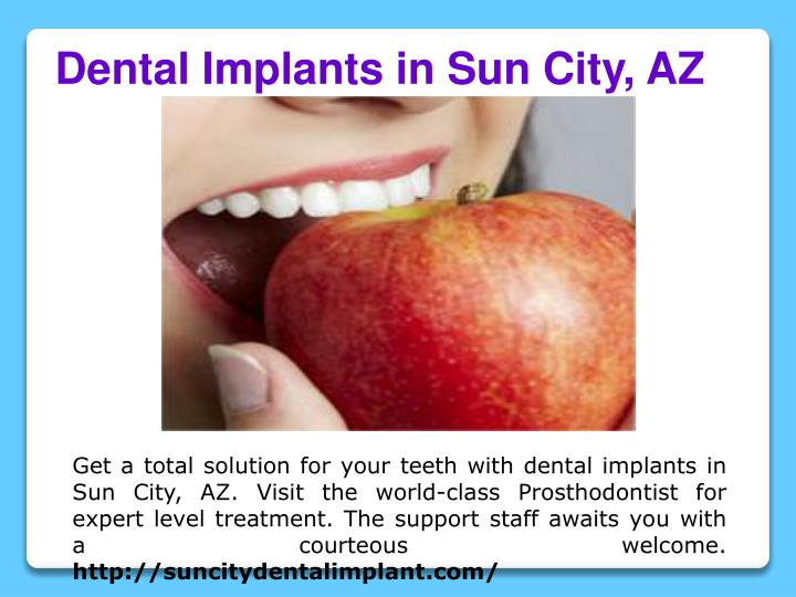 Dental Implants in Sun City, AZ