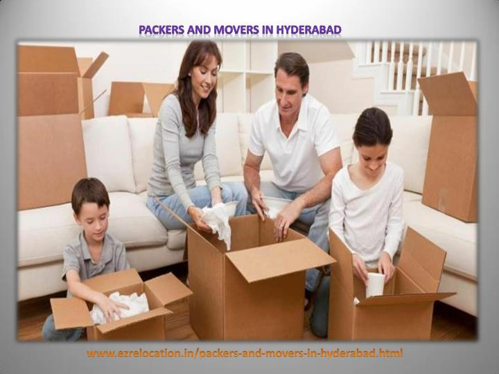 Smooth shifting via packers and movers hyderabad