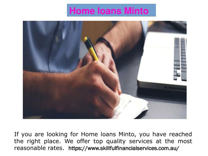 Home loans Minto