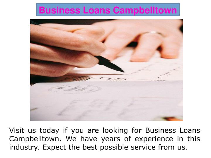 Business Loans Campbelltown