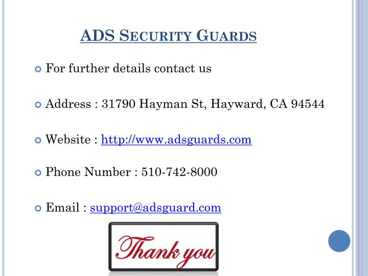 ADS Security Guards