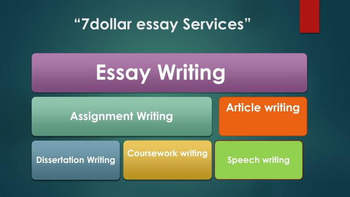 """7dollar essay Services"""