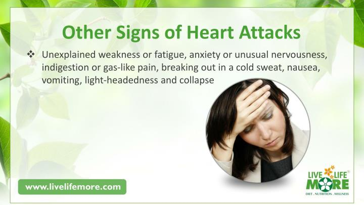 Other Signs of Heart Attacks
