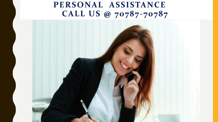 Personal  Assistance