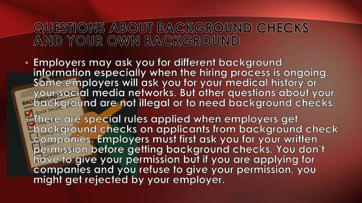 A guide about background checks for applicants and employees
