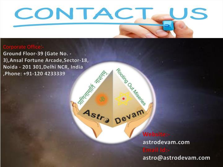 Corporate Office:-