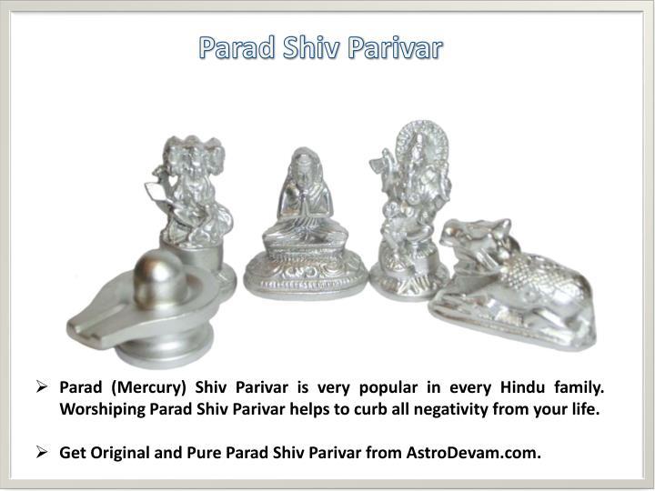 Parad Shiv Parivar