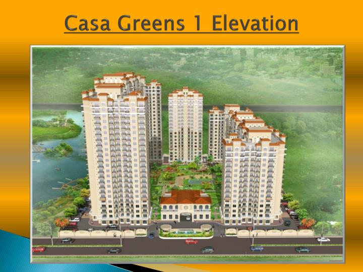 Casa greens 1 elevation