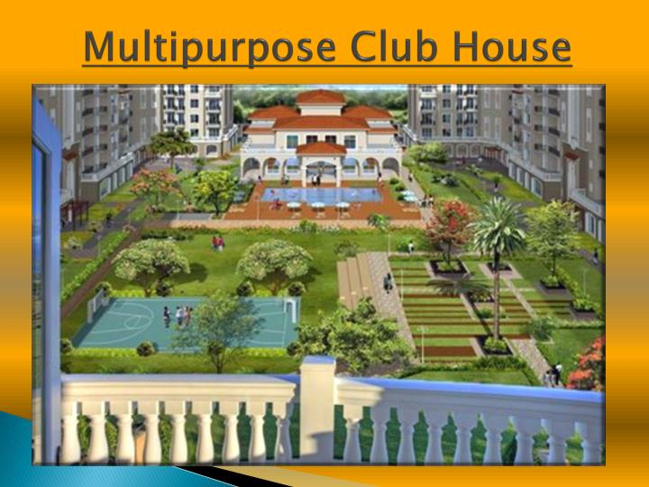 Multipurpose club house
