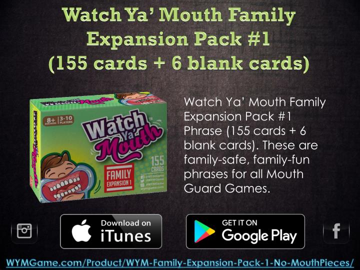 Watch Ya' Mouth Family