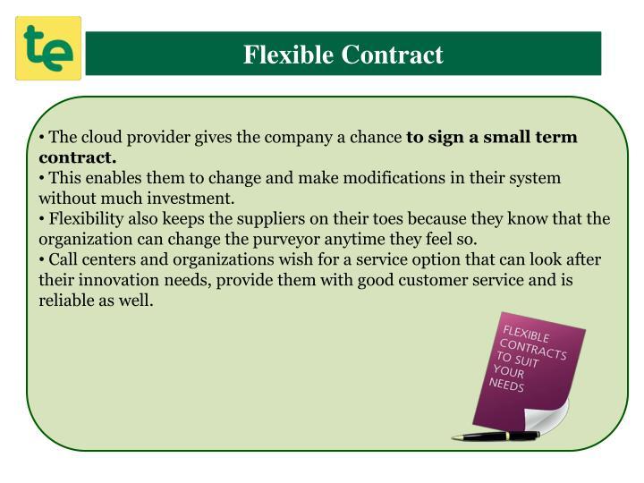 Flexible Contract