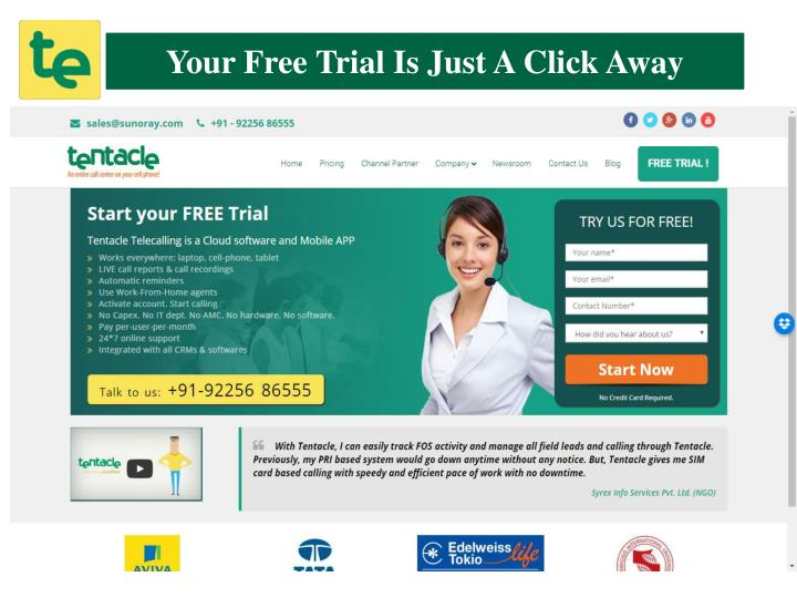 Your Free Trial is Just A Click Away