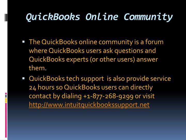 QuickBooks Online Community