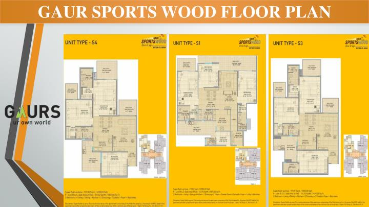 GAUR SPORTS WOOD FLOOR PLAN