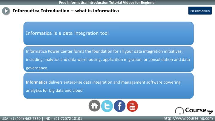 Informatica Introduction – what is informatica