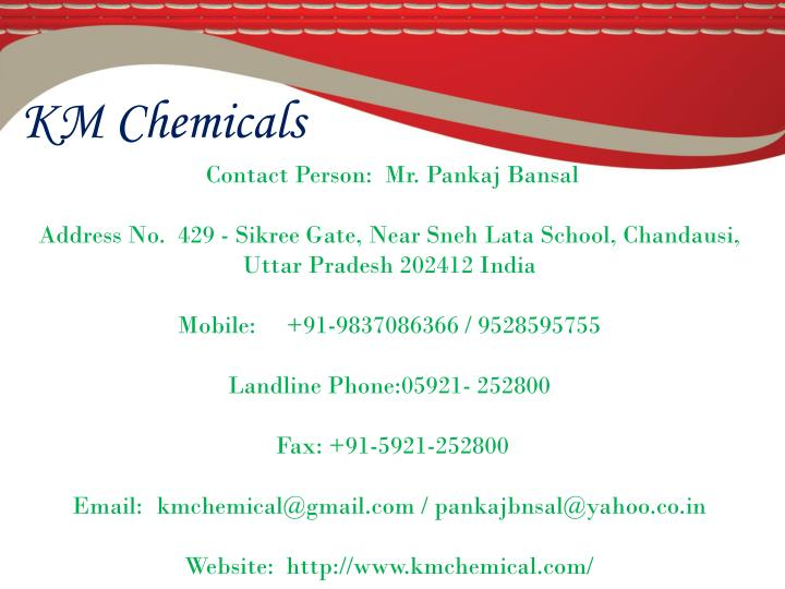 KM Chemicals
