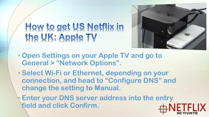 How to get US Netflix in the UK: Apple