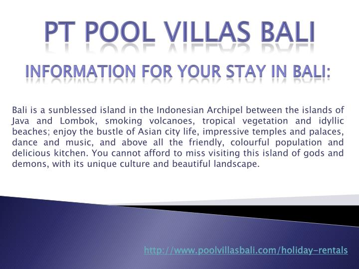 Bali is a sunblessed island in the Indonesian Archipel between the islands of