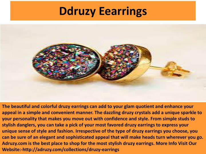 Ddruzy Eearrings