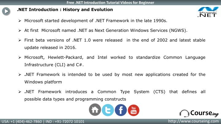 Net introduction history and evolution