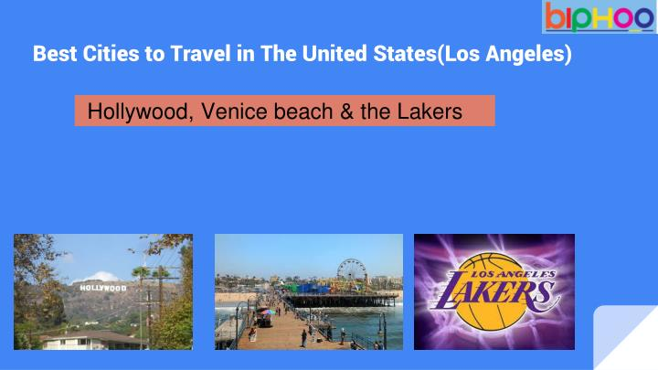 Hollywood, Venice beach & the Lakers
