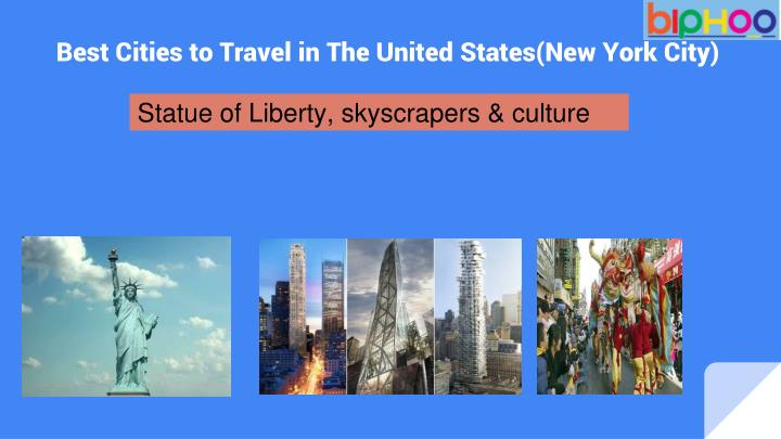 Statue of Liberty, skyscrapers & culture