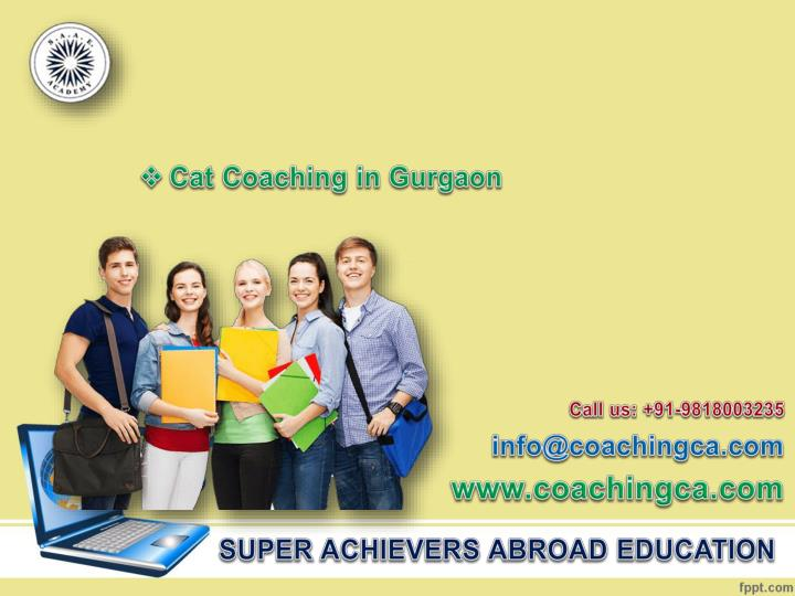 Cat Coaching in Gurgaon