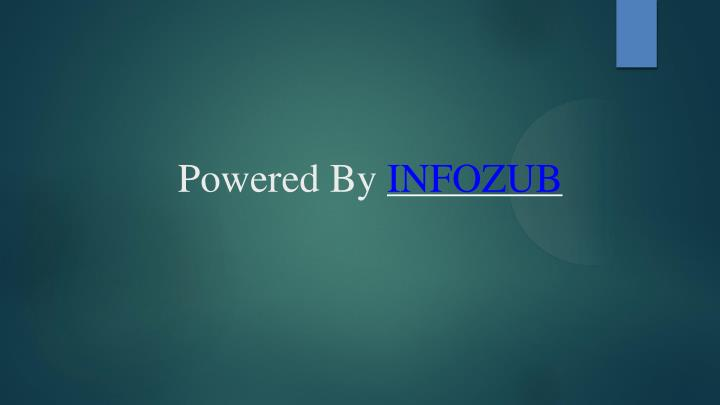 Powered By INFOZUB